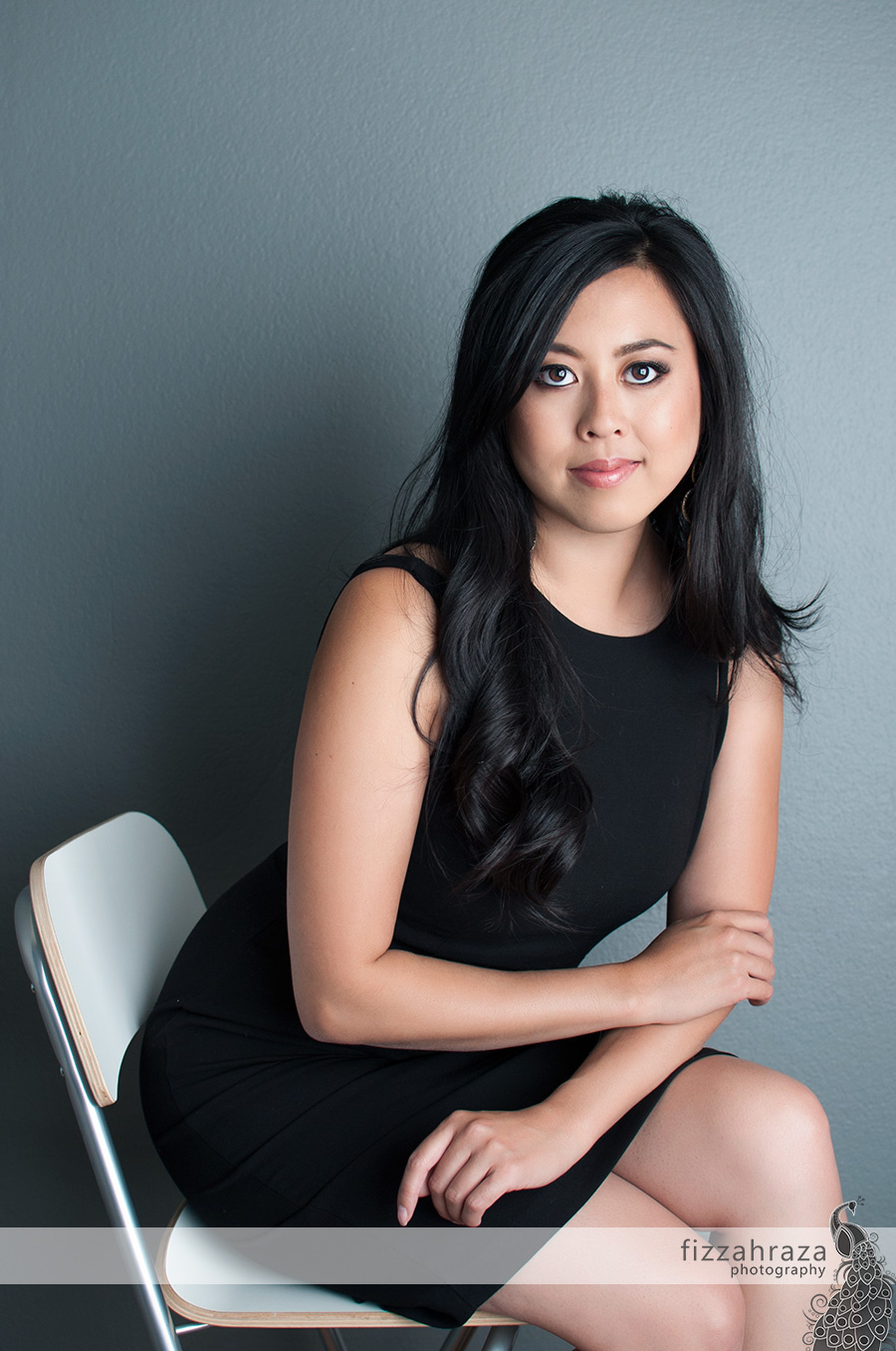 contemporary modern bay area glamour portrait of anna wu art for art